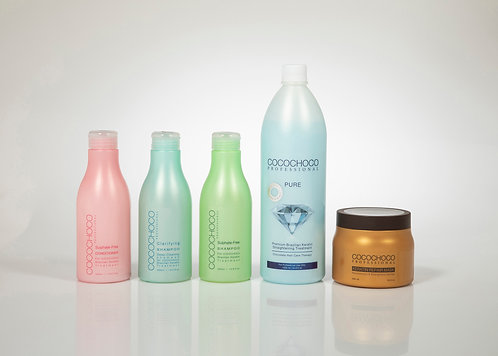 COCOCHOCO Pure Brazilian Keratin treatment Kit 41 Healthy Shiny and Silky Look