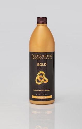 COCOCHOCO Gold 1000ml Keratin Treatment For Super straight hair - 24 Karat