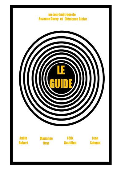"""Affiche de """"Le Guide""""."""
