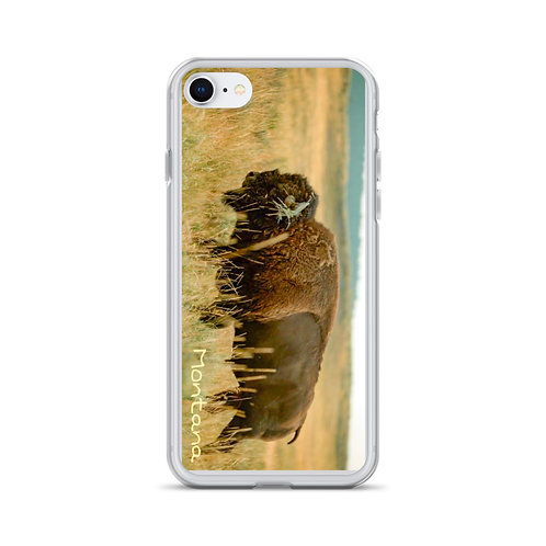 Montana Bison iPhone Case
