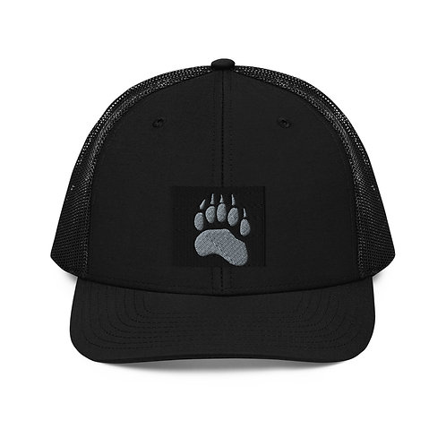 Trucker Cap with Grizzly Track
