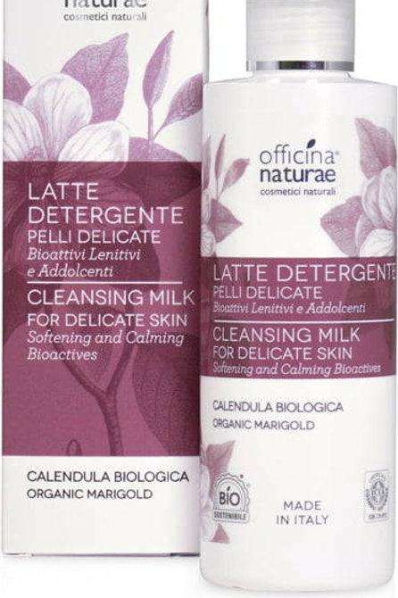 Reinigingsmelk voor de gevoelige huid