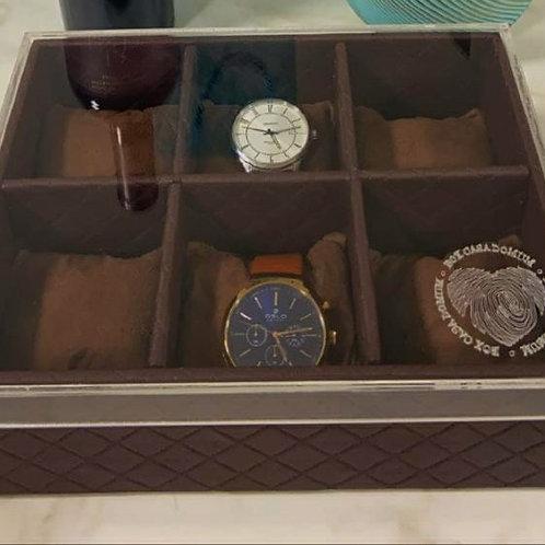 Porta Relógio Personalizado