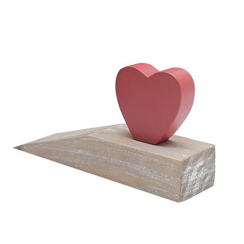 Calço para porta de coração