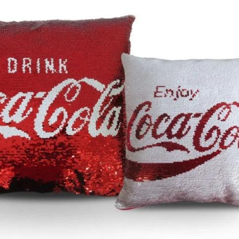 Almofada Dupla Face Coca Cola