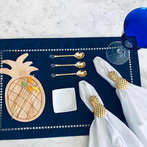 Jogo Americano Azul Marinho - UN