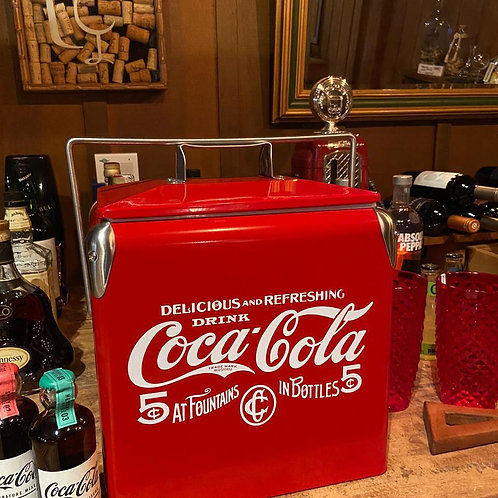 Cooler Aço Inox Coca Cola