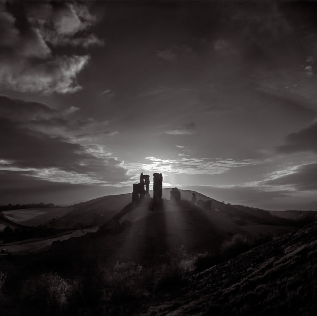 17. Corfe Castle, Isle of Purbeck, England by Thomas Wells