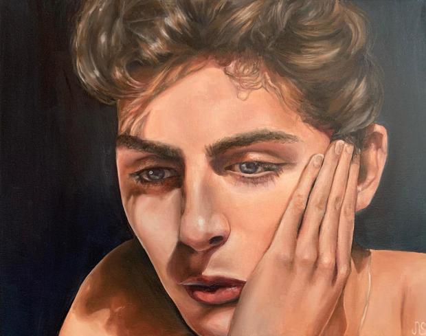 1st Place Painting - Portrait, Nicole Stevens