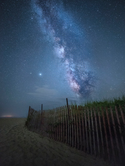 New England and Night Sky 3 - Mary Grace Leone