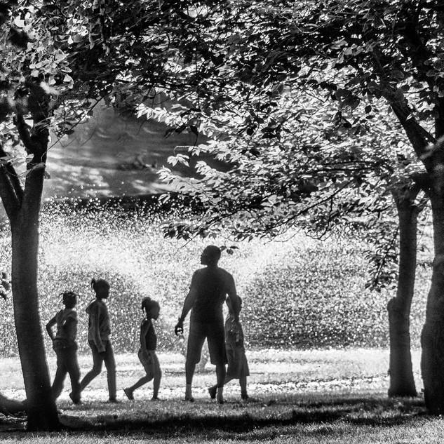 7. A Stroll In The Park by Leonard Hellerman