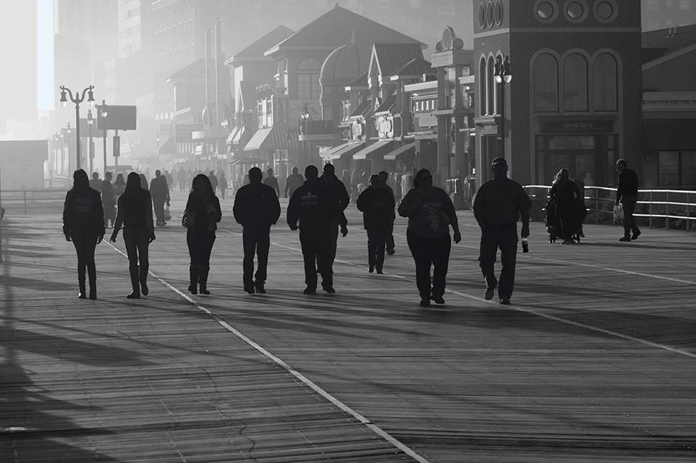 Atlantic City Silhouette - John Zyrlis