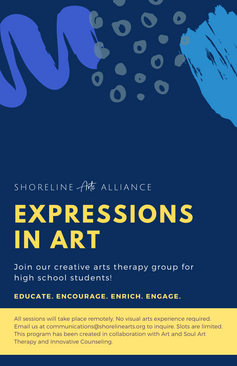 Shoreline Arts Alliance Receives Multiple Grants to Support New Program – Expressions in Art