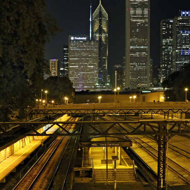 45. Nightscape, Chicago, IL by Tom Ouellette
