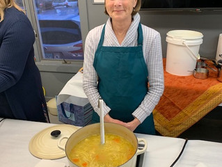"""""""Soup for Good TO GO"""" Event Benefits Guilford Art Center and Community Dining Room"""