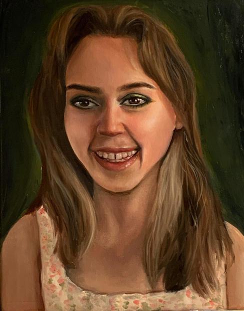Self Portrait - Nicole Stevens