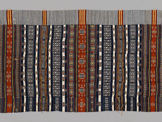 Madison Church Donates African Marriage-Bed Textile  To Yale University Art Gallery