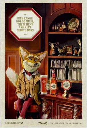 Old Speckled Hen Print Advert