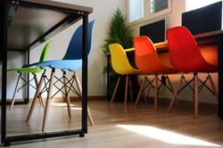 Sắc màu ghế
