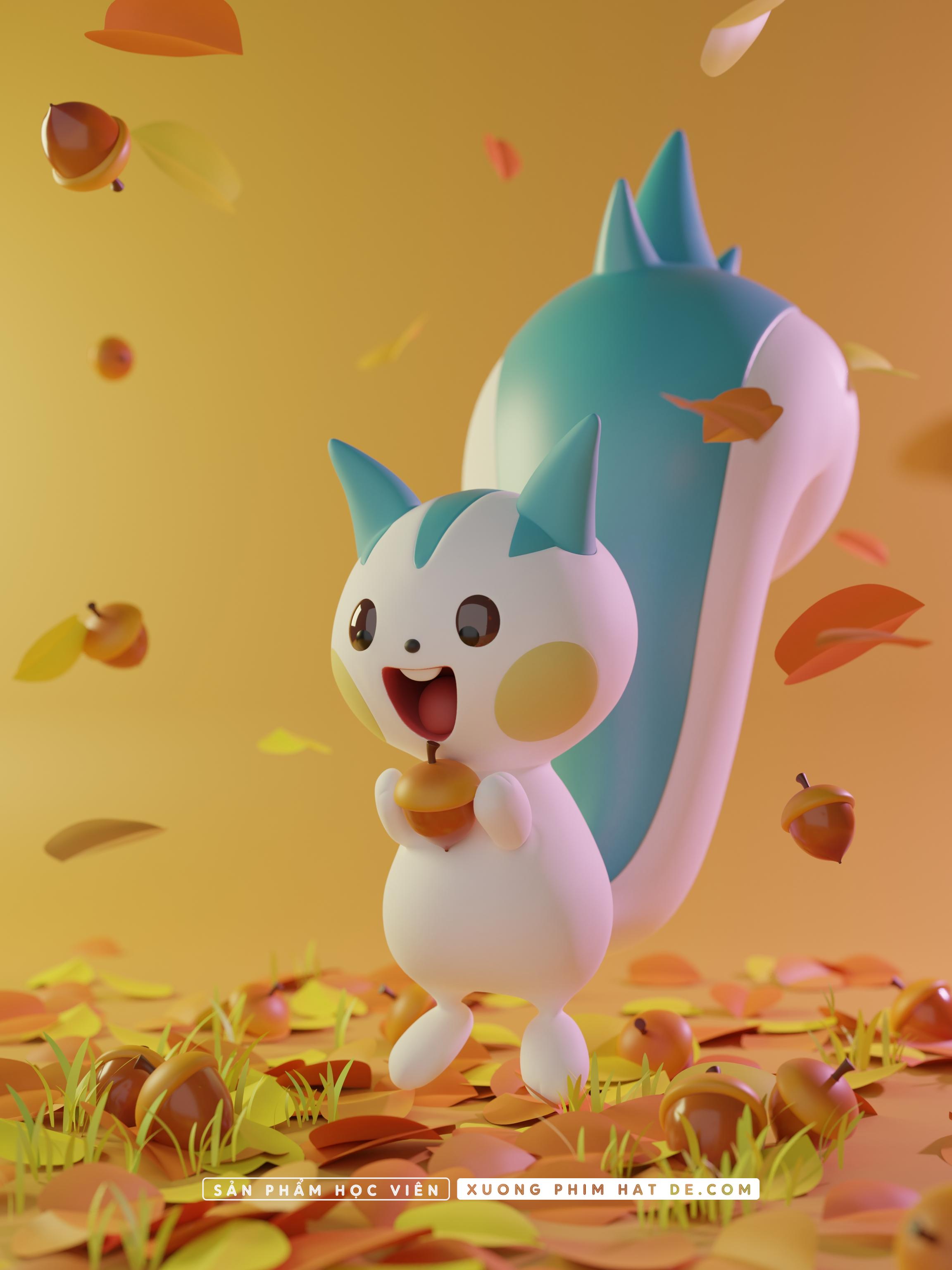 LuuMinh_PokemonB_Pachirisu_SPHV
