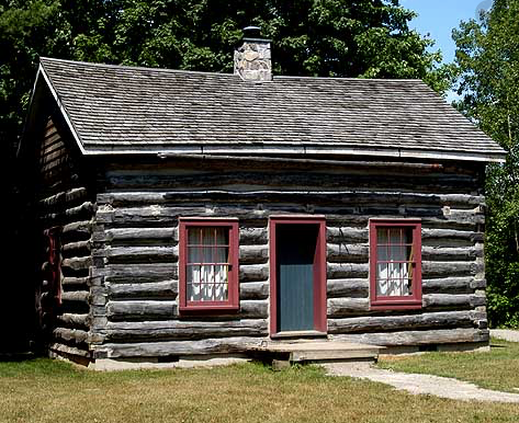 The History of the Log cabin