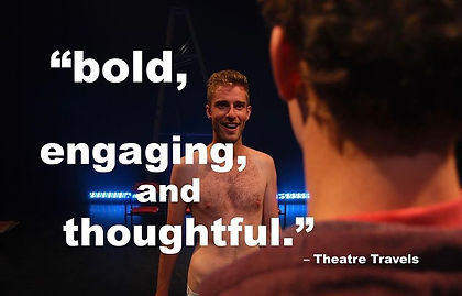max greenham, melbourne, gay, theatre, jake stewart, nida, theatre works, la mama, underwear, actors, playwright, nida, naked, nudity, comedy, homosexuality, new