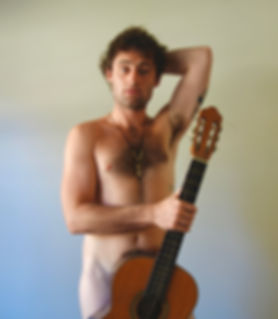 shane palmer, naked afl, naked footy player, nude footy players, melbourne theatre, naked guitar