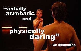 ben goss, eamon dunphy, theatre, melbourne, midsumma, queer, gay, jake stewart, playwright, nida, theatreworks, nudity, gay, underwear, drama, nida