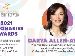 Meet Our Visionaries Honoree: Darya Allen-Attar