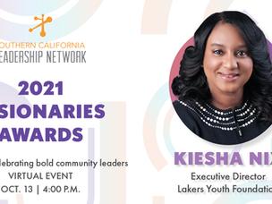 Meet Our Visionaries Awards Honoree: Kiesha Nix