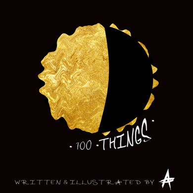 100 THINGS COVER ART