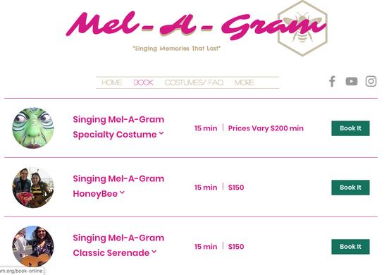 MEL-A-GRAM