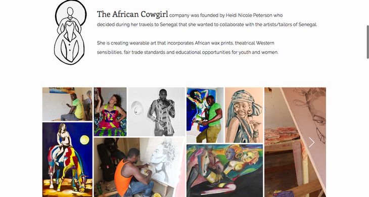 THE AFRICAN COWGIRL