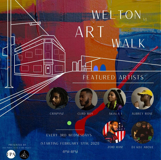 Welton St. Art Walk