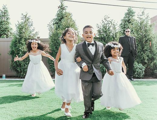 Flower girls & Junior groomsmen