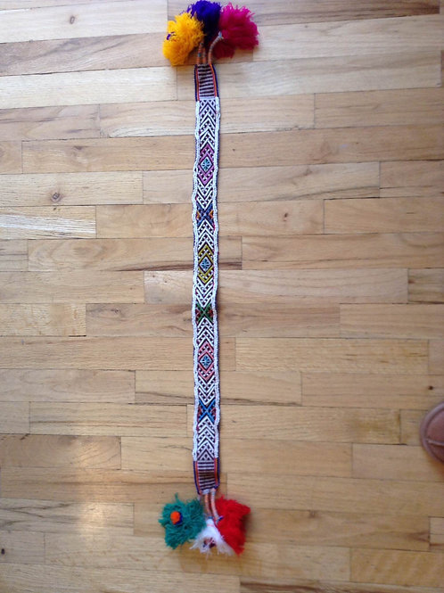 Beaded Hatband from Peru