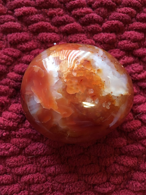 Global Mesa Stone Carnelian with Cave Indentation