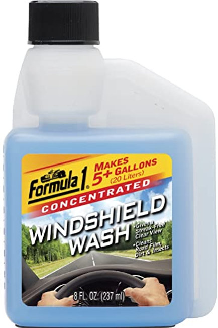 Formula 1 Windshield wash