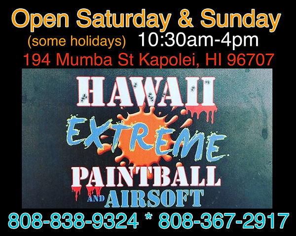 Hawaii Extreme Paintball