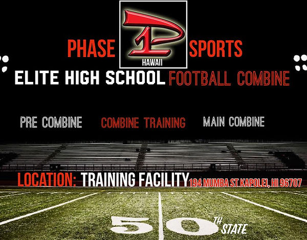 Hawaii Elite High School Football Combine