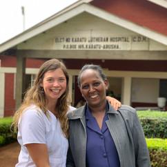 Doula at Karatu Lutheran Hospital