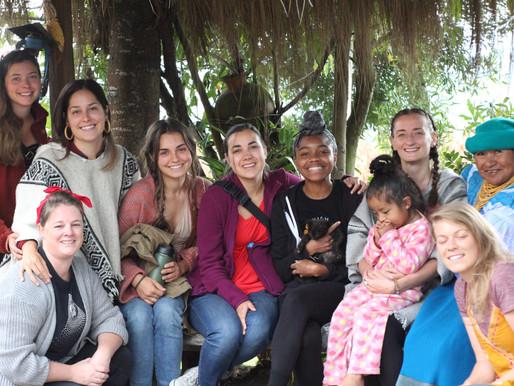 Ecuador, July 2019 with six amazing doulas... Saying Goodbye to Group 1