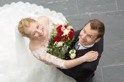 Brautstyling, Braut Make-up, Hochsteckfrisur, Hochzeit Engelsburg Recklinghausen