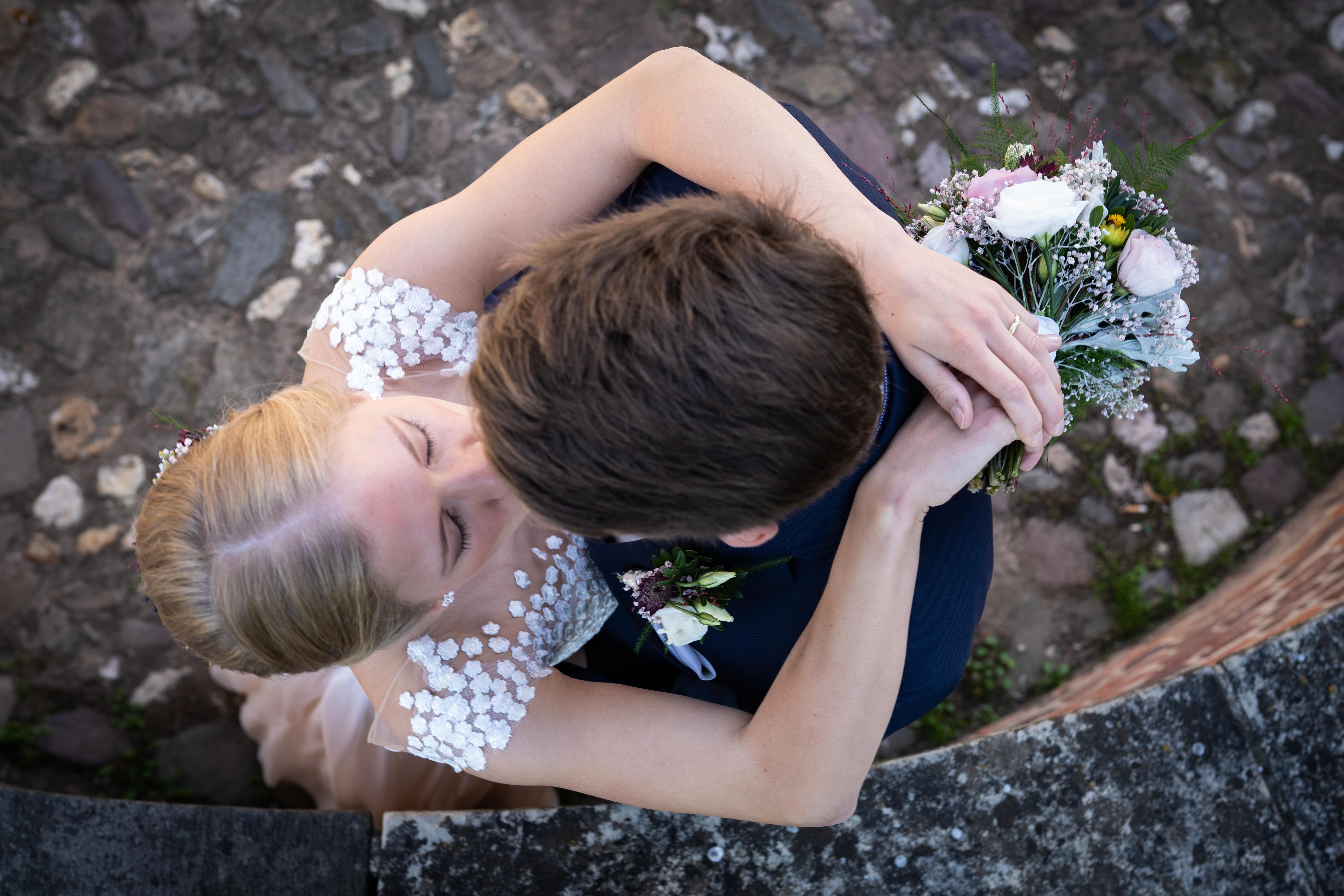 Hochzeit, Brautfrisur, Braut Make-up