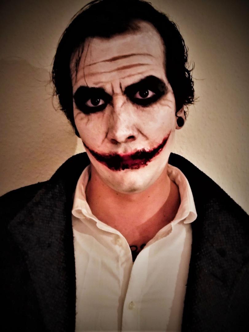 Halloween Make-up Joker