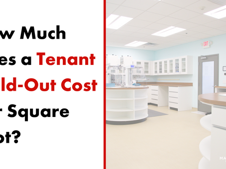 The Cost of a Tenant Build-Out Per Square Foot