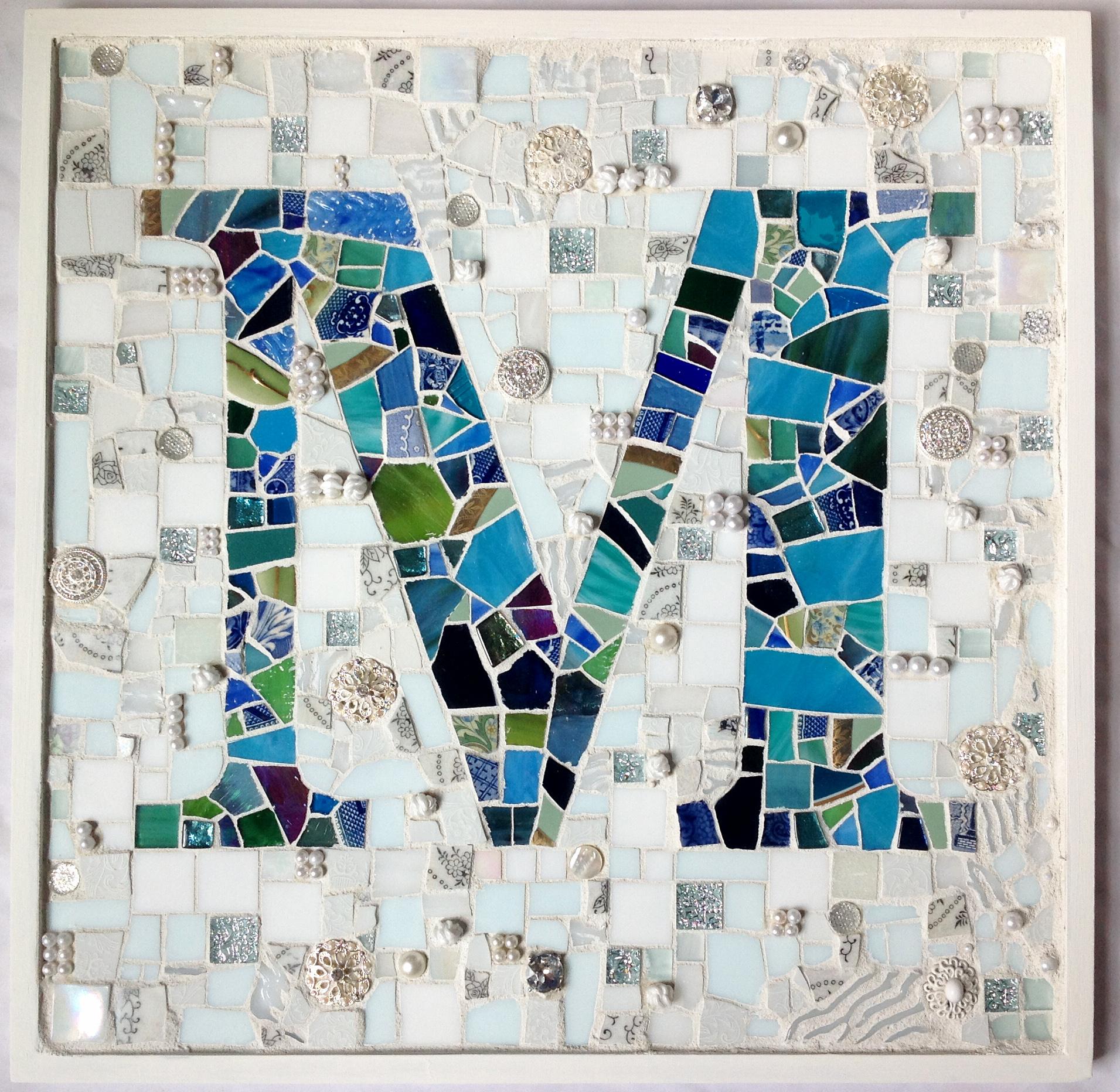 M Monogram Mosaic