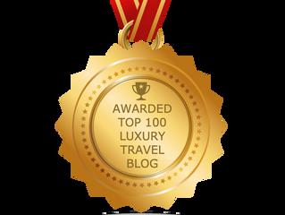 Luxury Travel Lab Blog in Feedspot Top 100 Luxury Travel Blogs