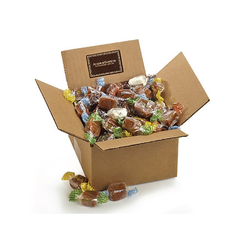 Caramels: 1.5 lbs. individually wrapped (approx. 55 caramels)