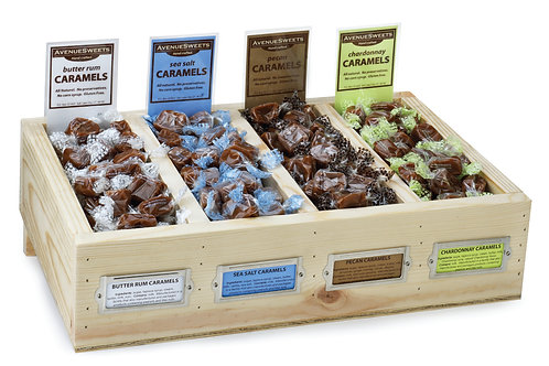 Bulk Caramel Displays